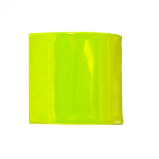 Reflexní pásek na ruku Impo 40 cm - žlutý