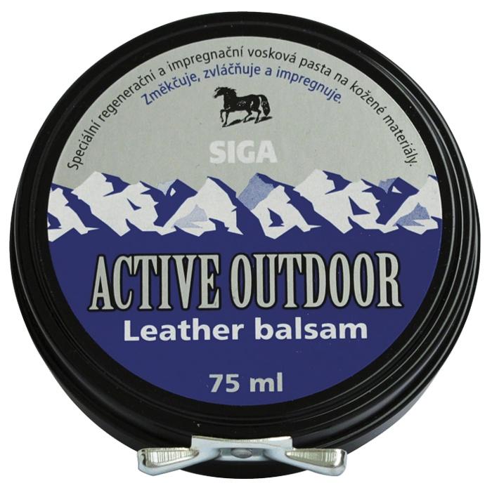 Impregnace vosk Siga Active Outdoor Leather balsam 75ml