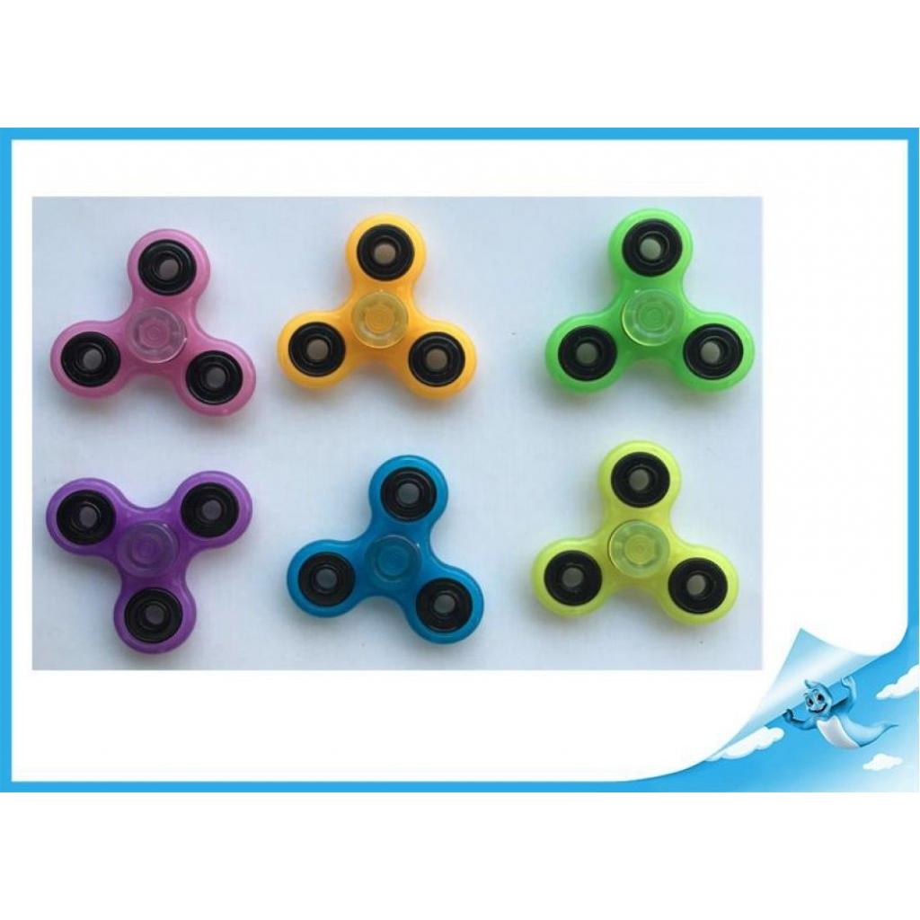 Fidget Spinner Extreme 7,6 cm - růžový