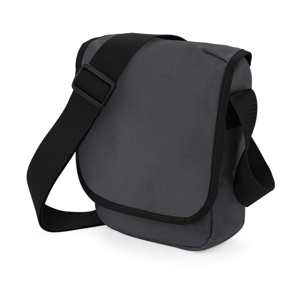 Taška přes rameno Bag Base Mini Reporter Bag - šedá-černá