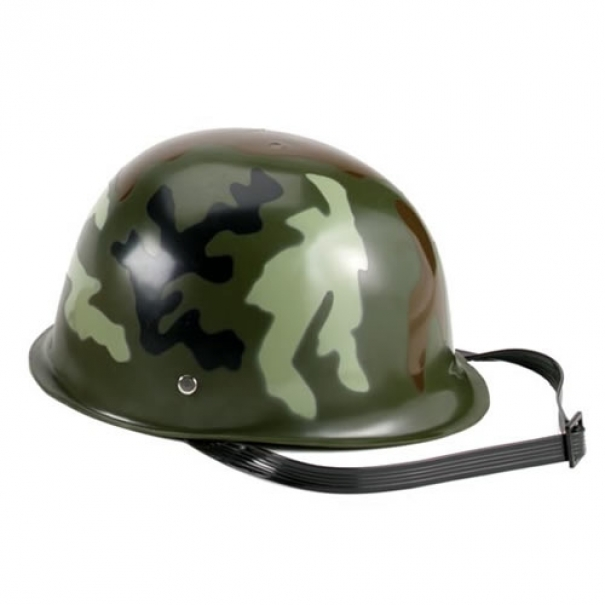 Helma dětská z plastu Rothco - woodland
