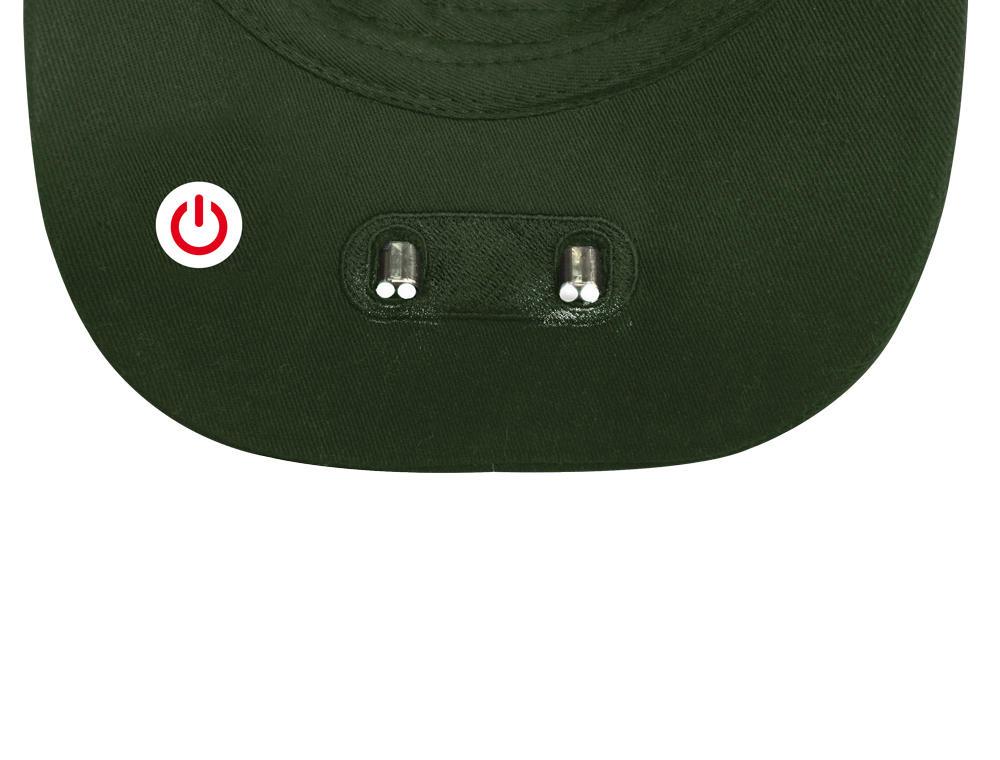 5cfba6616 Šiltovka svietiace Alex Fox Torch - olivová - Army a outdoor vybavenie