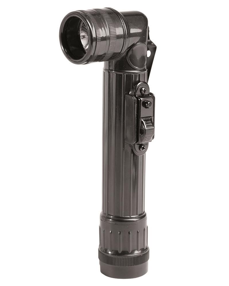 US rohová svítilna LED Mil-Tec 16 cm - černá
