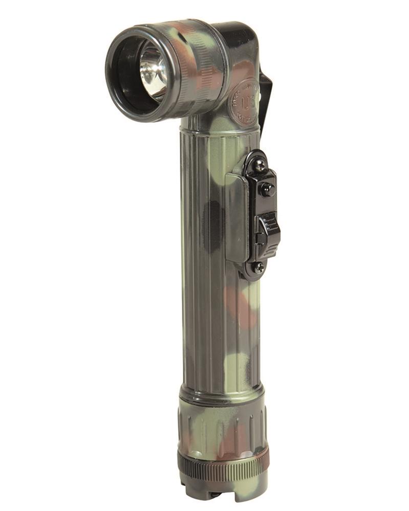 US rohová svítilna LED Mil-Tec 16 cm - flecktarn