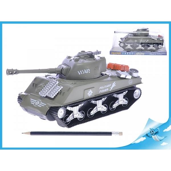 Tank na setrvačník - hnědý
