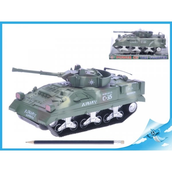 Tank na setrvačník - zelený