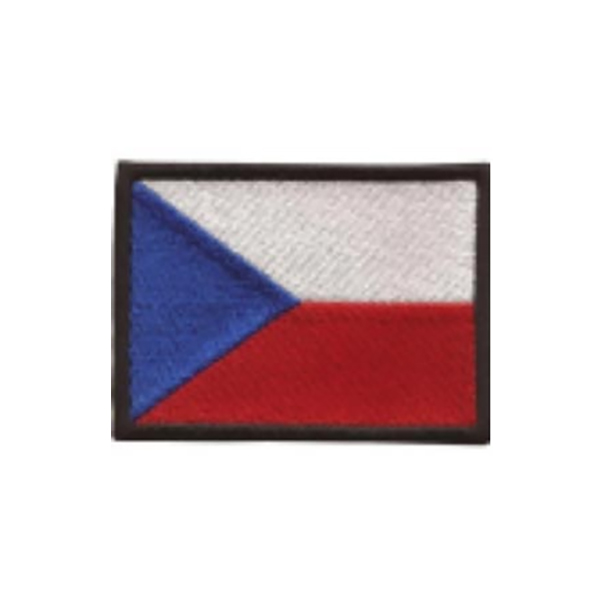 Nášivka Česká vlajka 8x6 cm 1a86bb5d3e