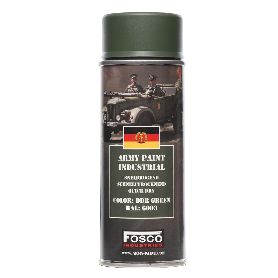 Barva ve spreji Fosco - DDR green ral 6003