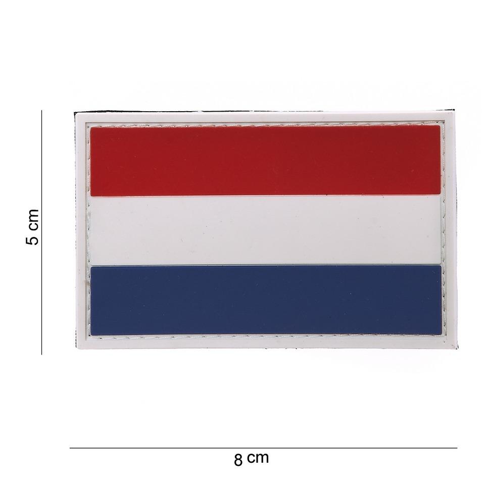 Gumová nášivka 101 Inc vlajka Nizozemsko