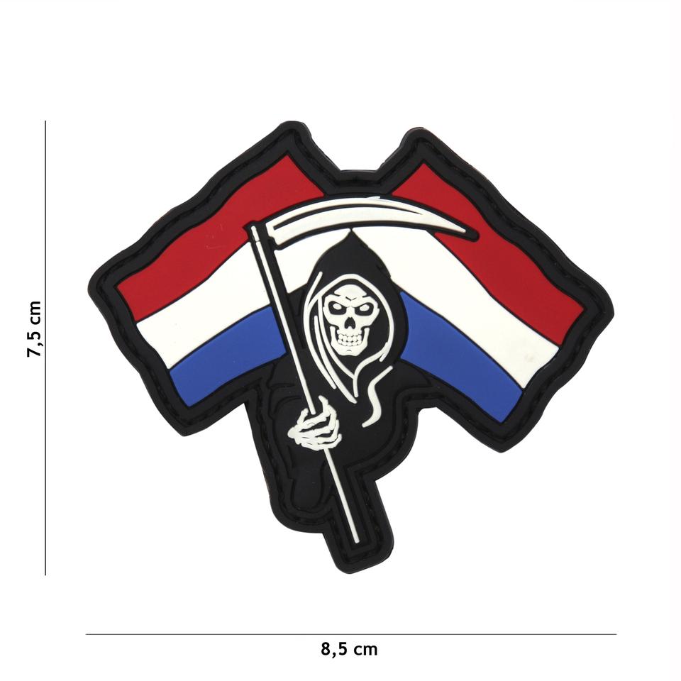 Gumová nášivka 101 Inc vlajka Dutch Reaper
