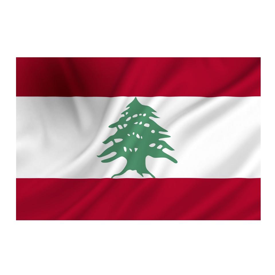 Vlajka Fostex Libanon 1,5x1 m