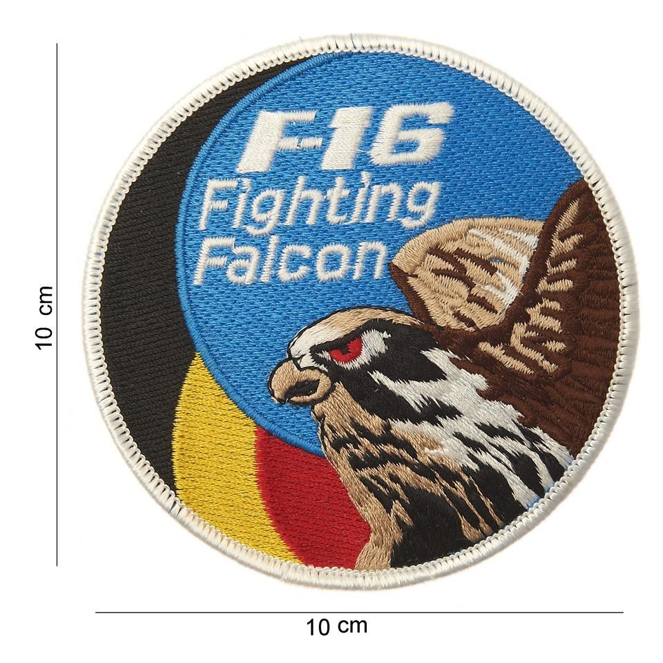 Nášivka textilní 101 Inc F-16 Fighting Falcon Belgium