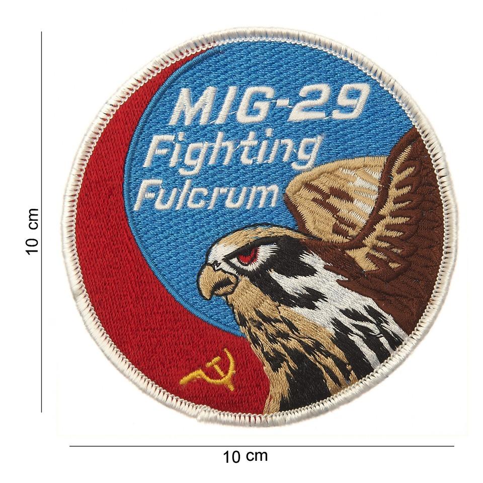 Nášivka textilní 101 Inc MIG-29 Fighting Fulcrum