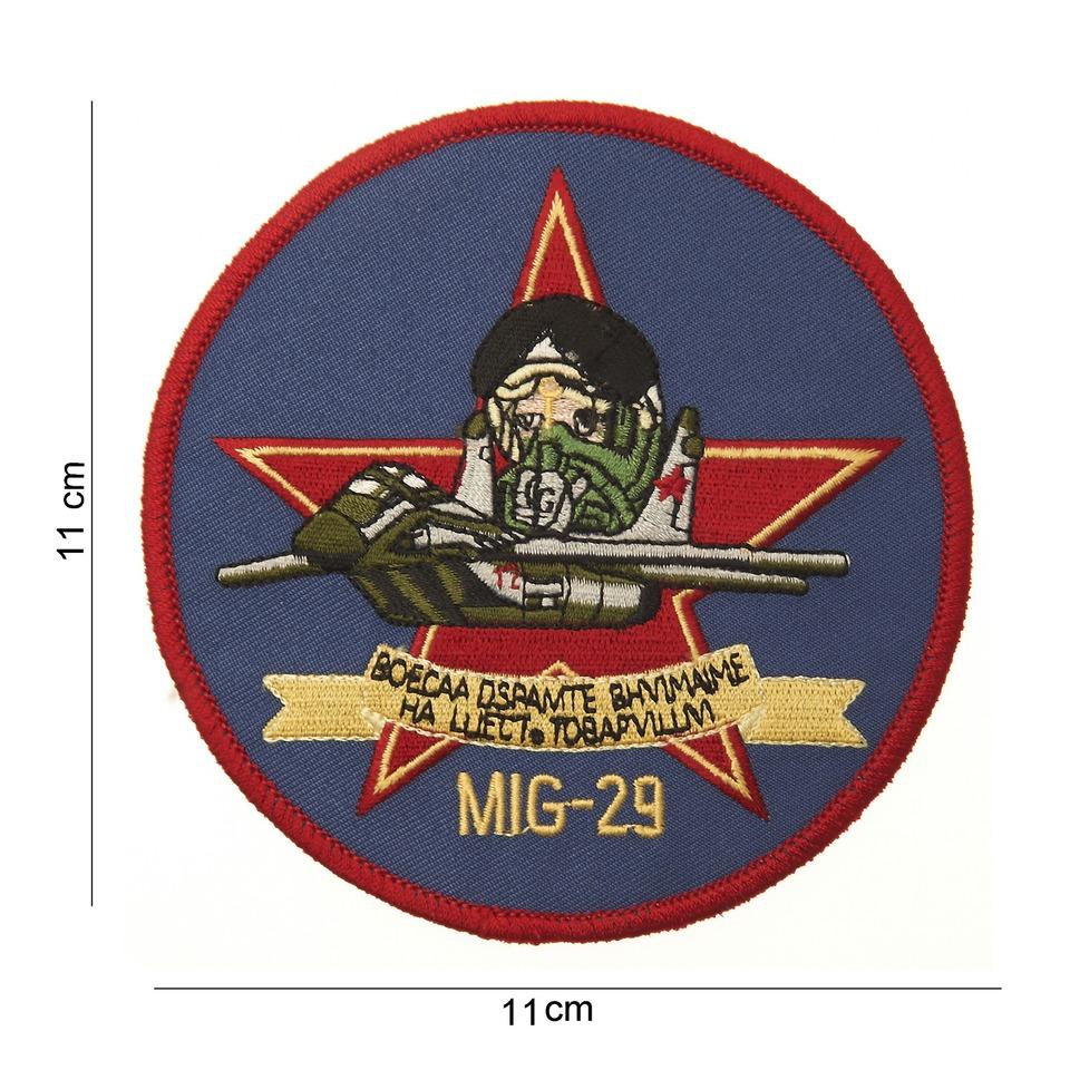 Nášivka textilní 101 Inc MIG-29