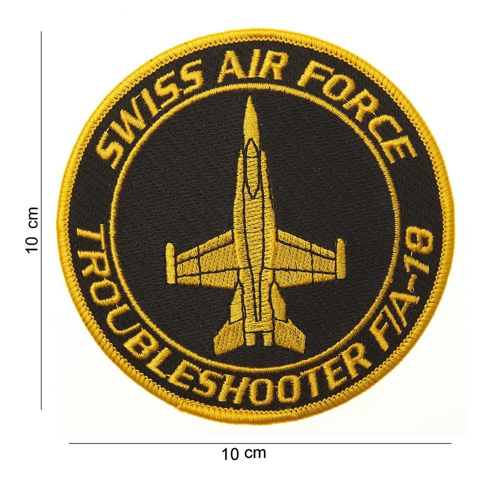 Nášivka textilní 101 Inc Swiss Airforce