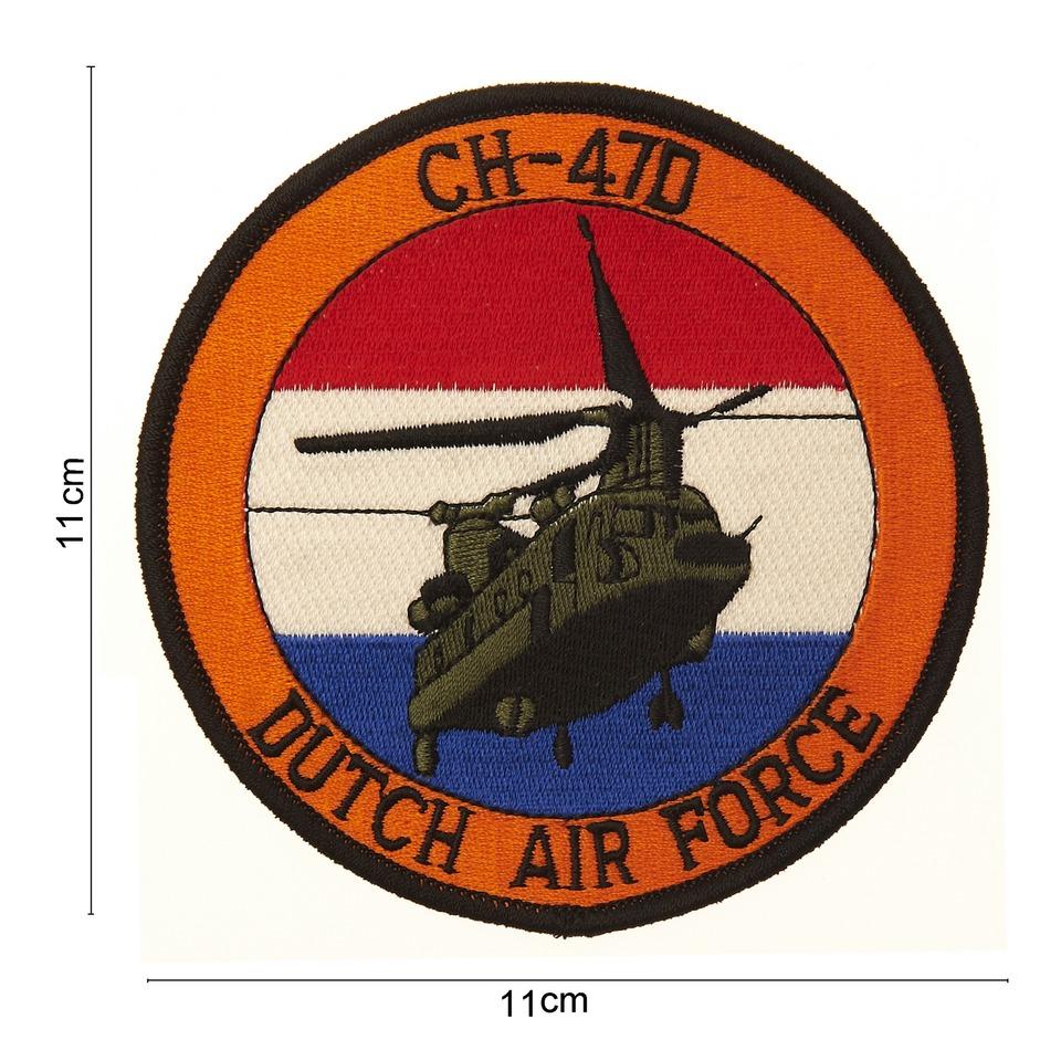 Nášivka textilní 101 Inc CH-47D Dutch Airforce