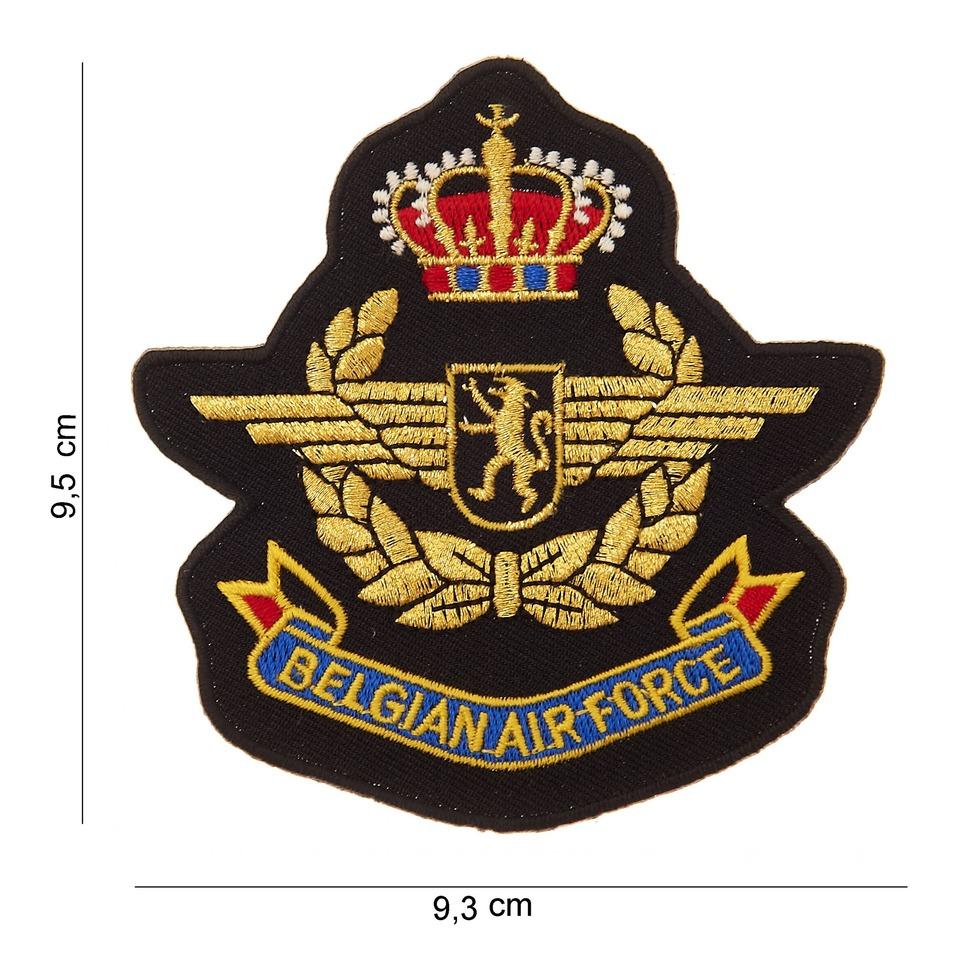 Nášivka textilní 101 Inc Belgian Airforce