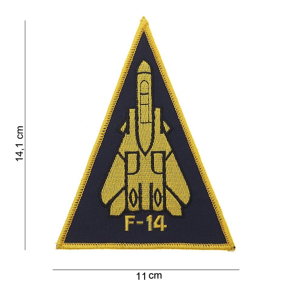 Nášivka textilní 101 Inc F-14