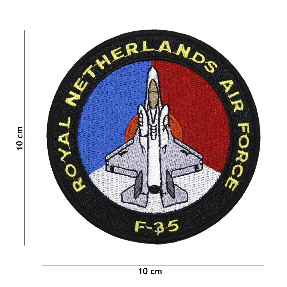 Nášivka textilní 101 Inc F-35 Royal Netherlands Air Force