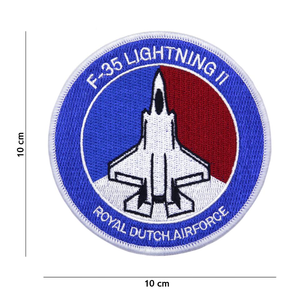 Nášivka textilní 101 Inc F-35 Lightning II Royale Dutch Airforce