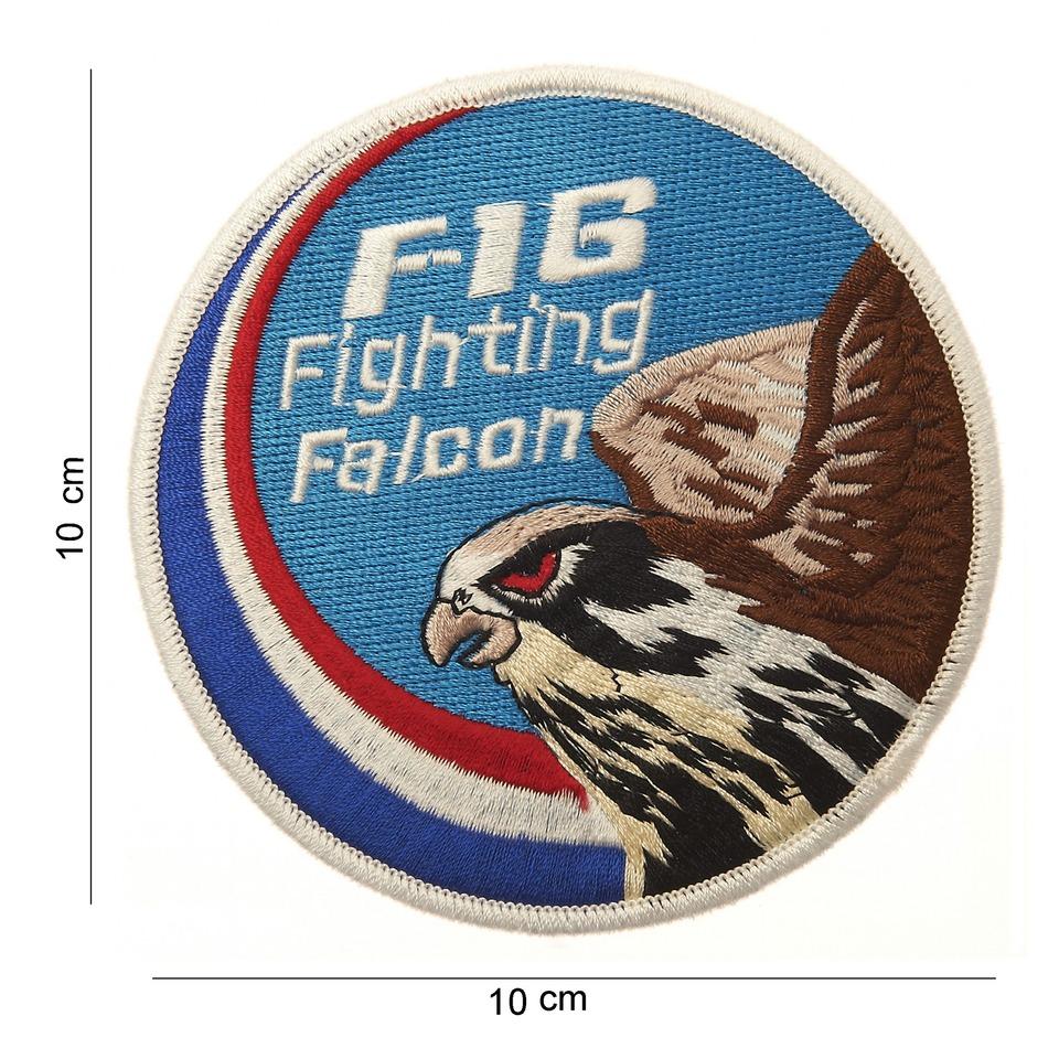 Nášivka textilní 101 Inc F-16 Fighting Falcon NL