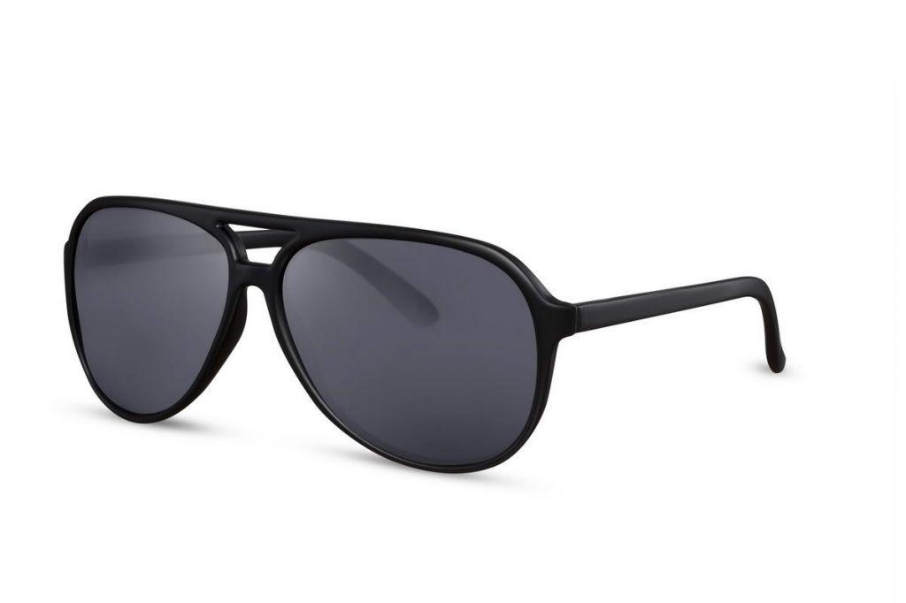 Sluneční brýle Solo Poly - černé
