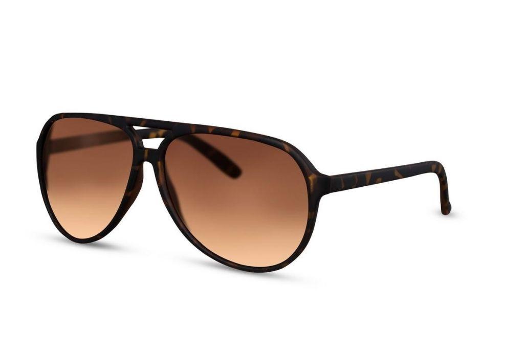 Sluneční brýle Solo Poly - hnědé
