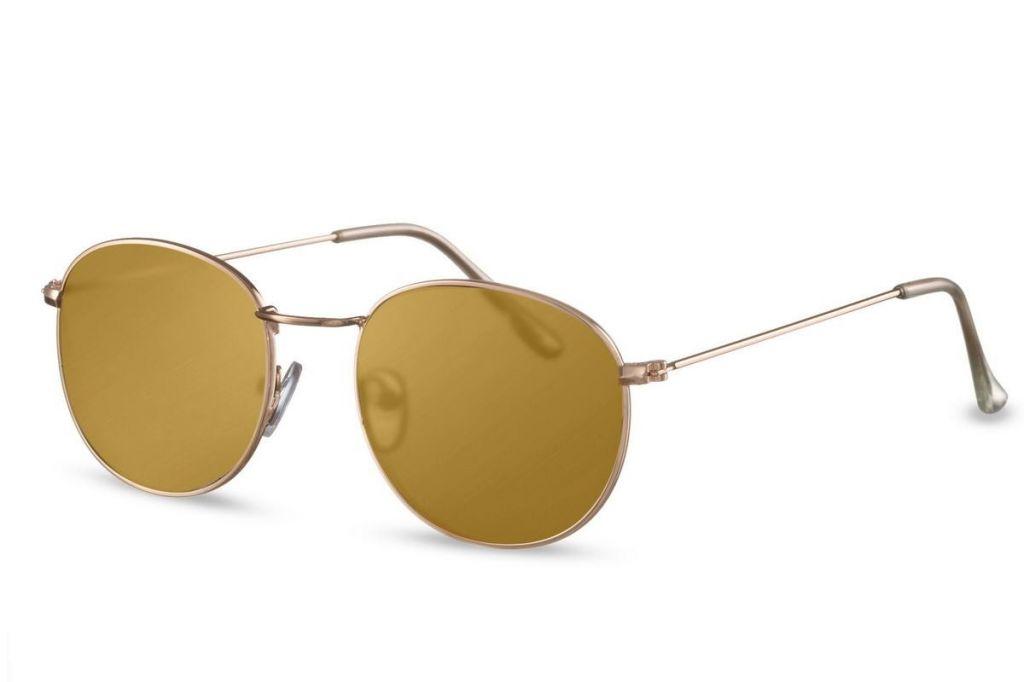Sluneční brýle Solo One Line - hnědé
