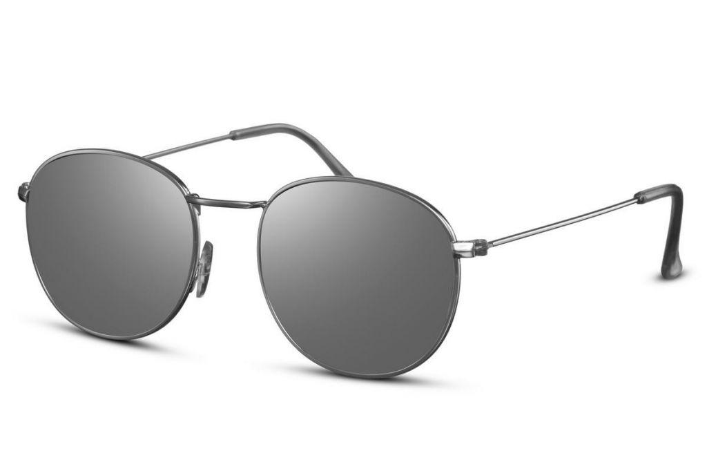 Sluneční brýle Solo One Line - stříbrné