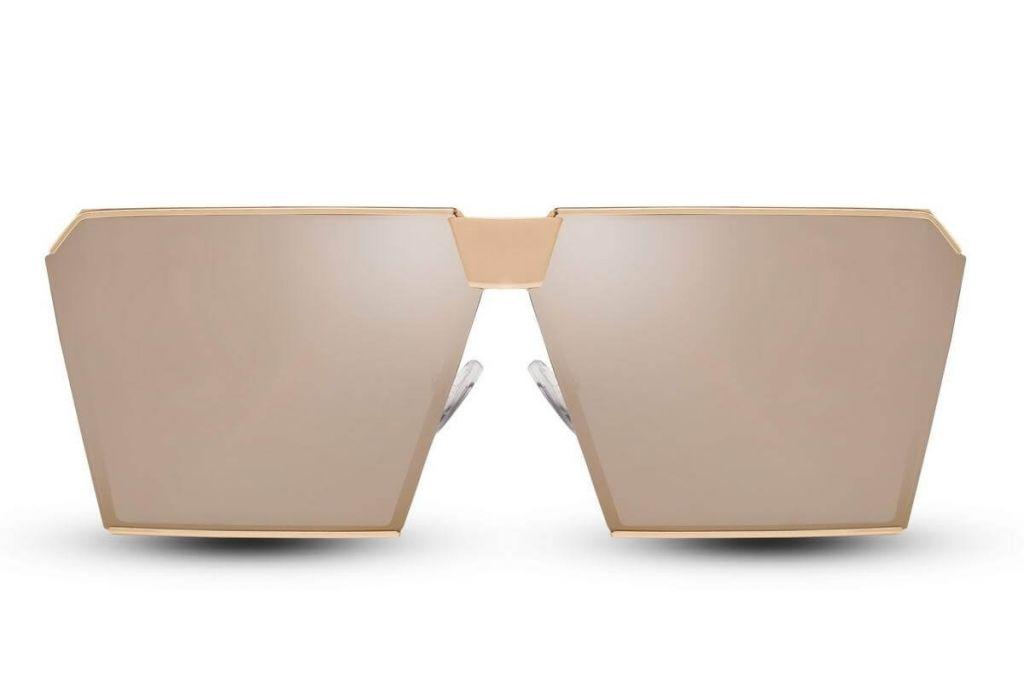 Sluneční brýle Solo Moderna - béžové