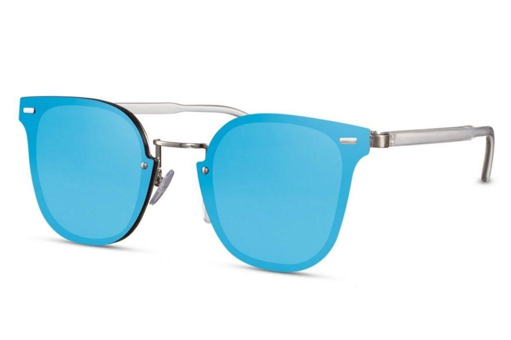 Sluneční brýle Solo Plastic - modré