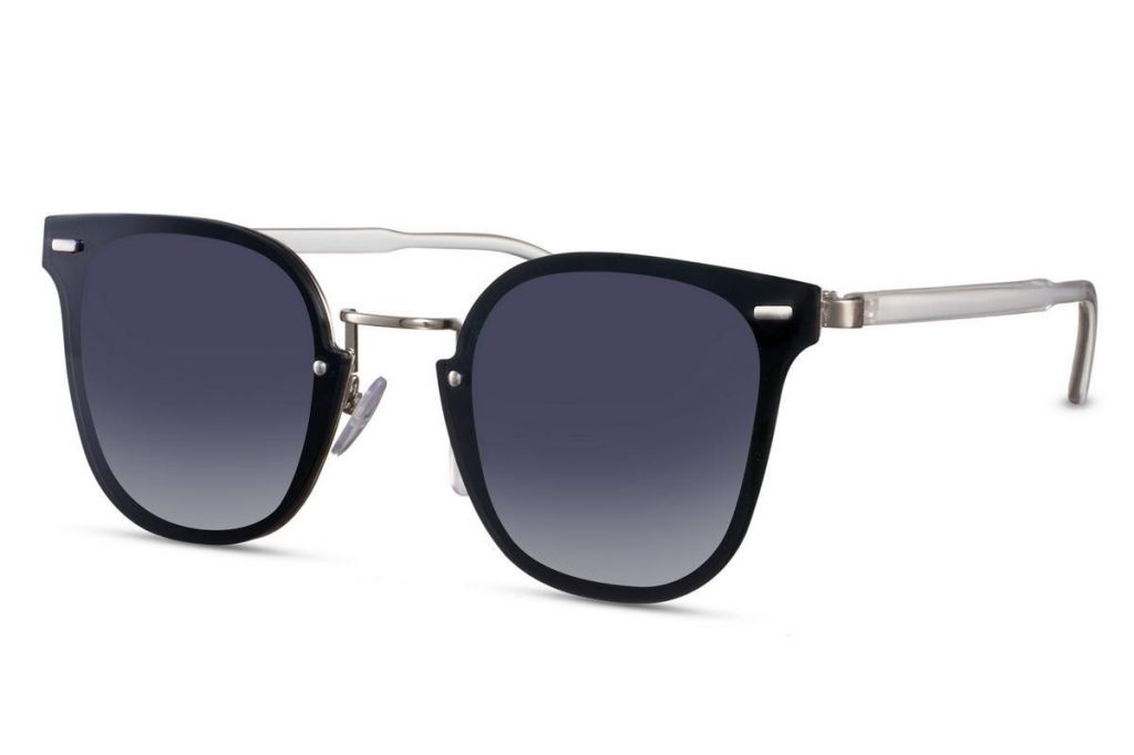 Sluneční brýle Solo Plastic - černé