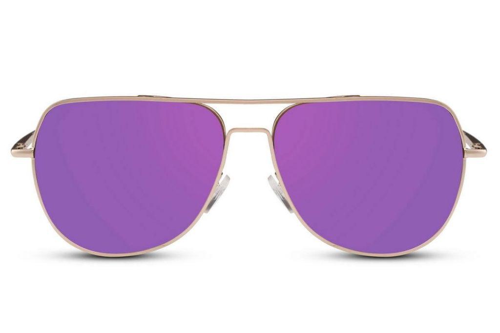 Sluneční brýle Solo Allround - fialové