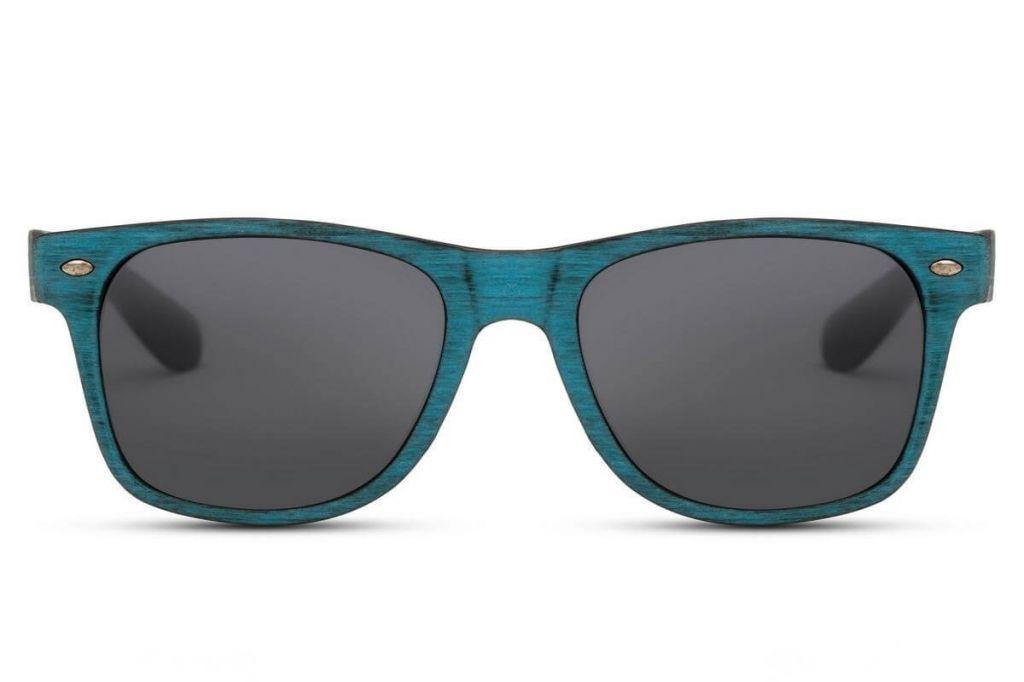 Sluneční brýle Solo Wayfarer Retro - modré