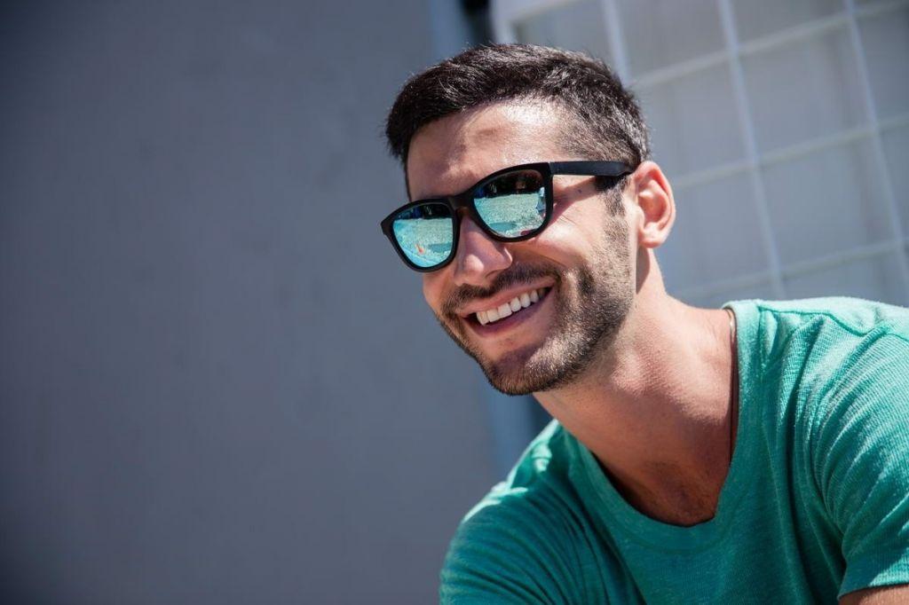 Slnečné okuliare Solo Wayfarer - čierne-modré - Army a outdoor vybavenie 7cde3864f16
