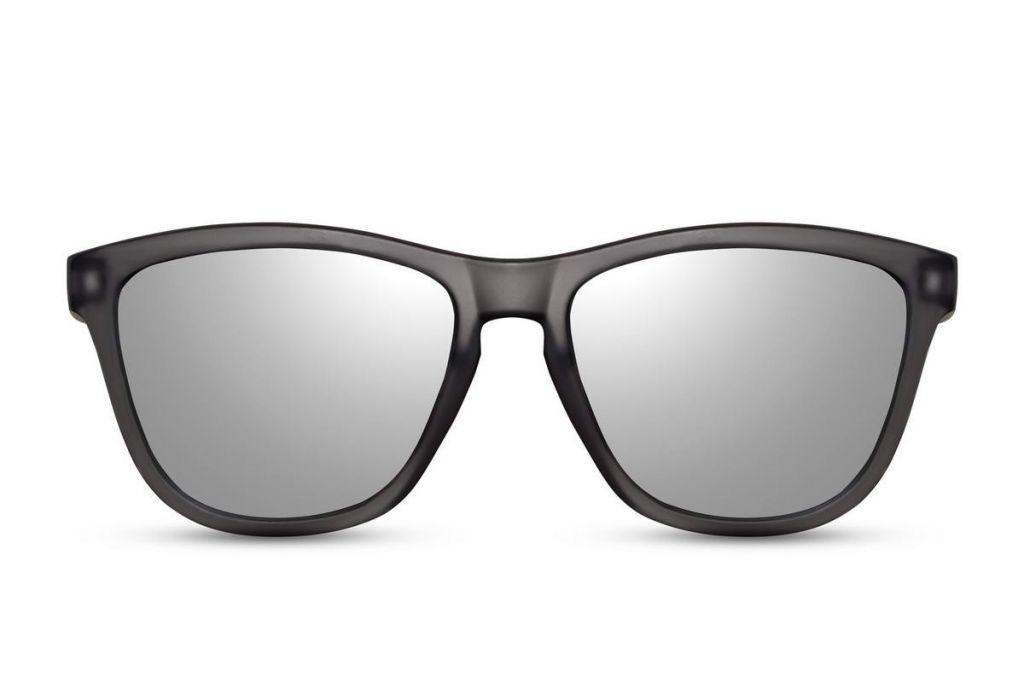 Slnečné okuliare Solo Wayfarer - čierne-strieborné - Army a outdoor ... 039a9aca963