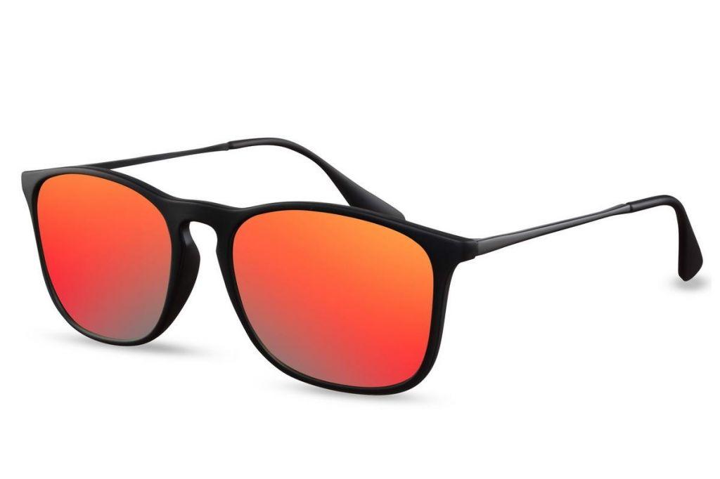 Sluneční brýle Solo Mode - černé-červené