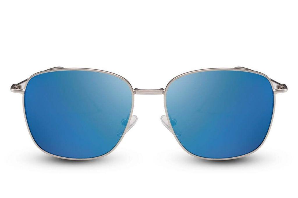 Sluneční brýle Solo Wayfarer Flat - modré