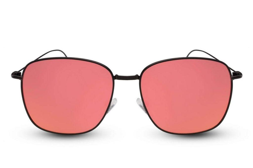 Sluneční brýle Solo Wayfarer Flat - červené