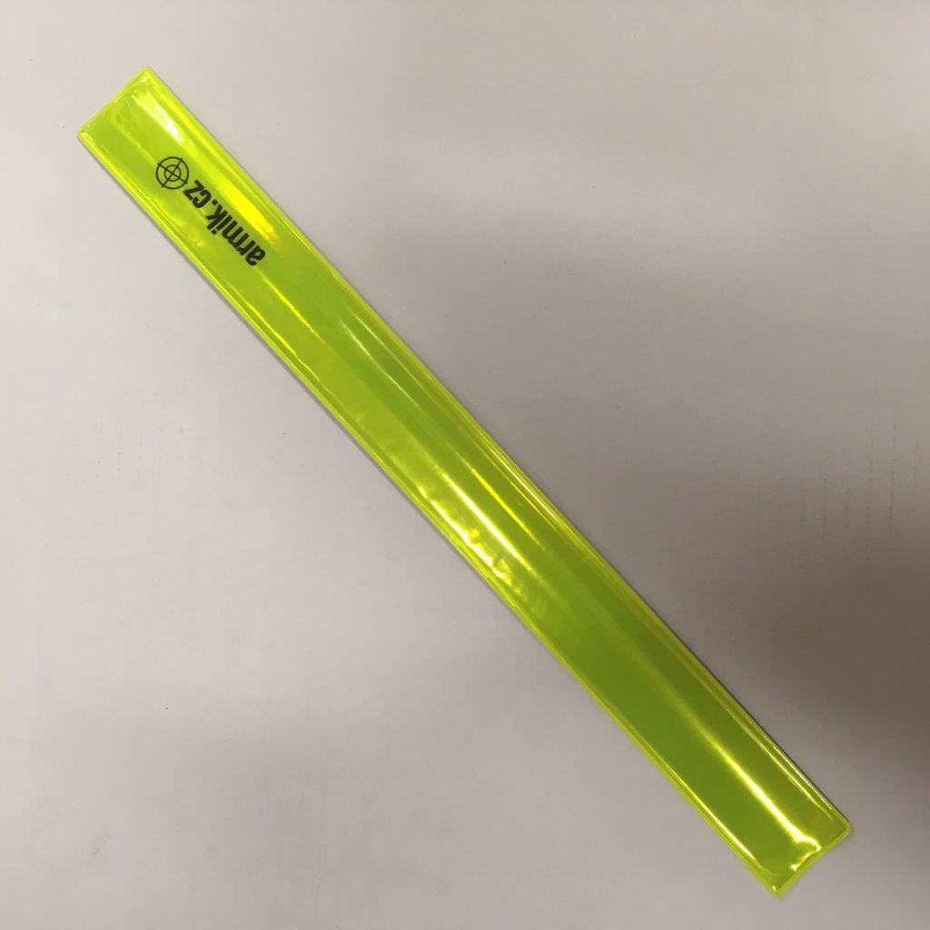 Reflexní páska Armik.cz - žlutá