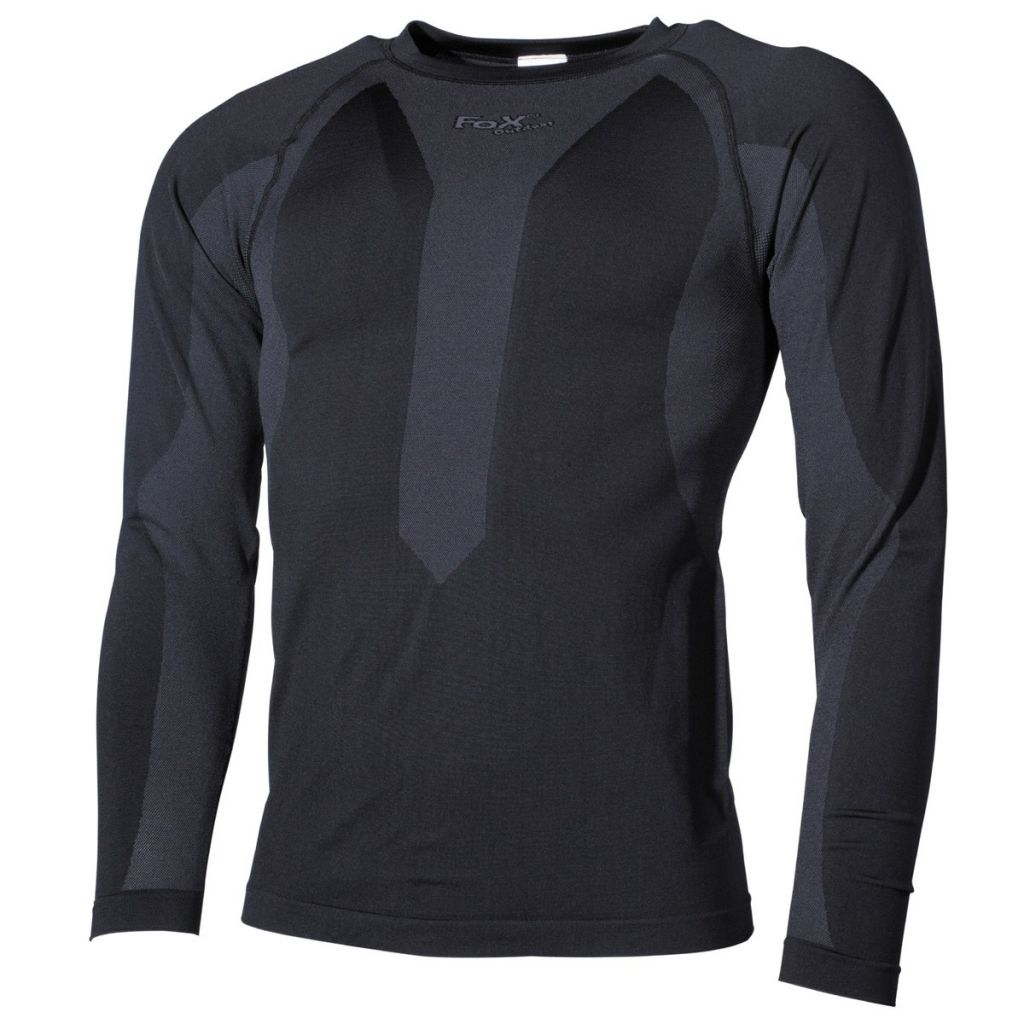 bfb2332cb48 Funkční triko s dlouhým rukávem Fox Thermo-Sport - černé - Army shop ...