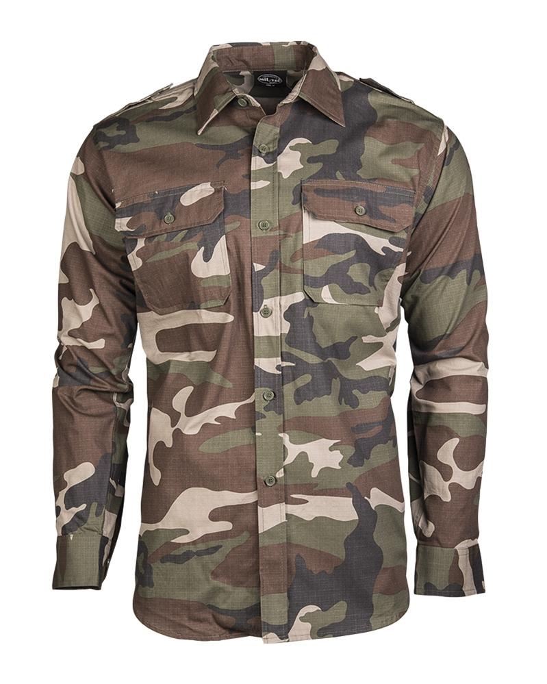 d95d3a850f1b Košeľa Ripstop dlhý rukáv - CCE - Army a outdoor vybavenie