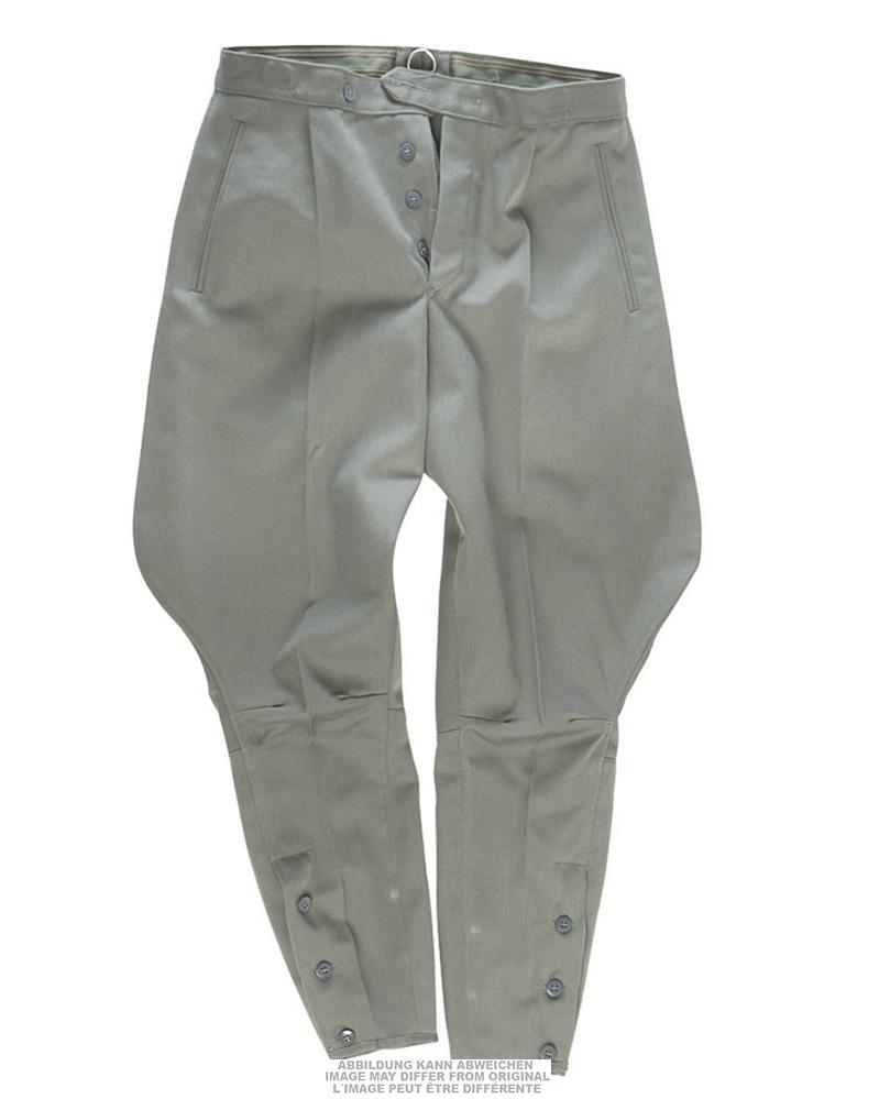 Kalhoty NVA jezdecké - šedé