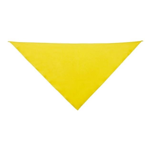 Šátek trojcípý Roly Jaranero - žlutý