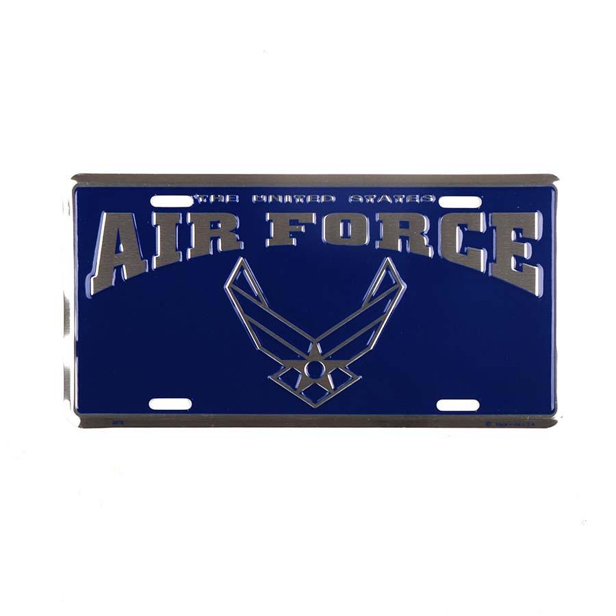 Cedule plechová Licence US Air Force