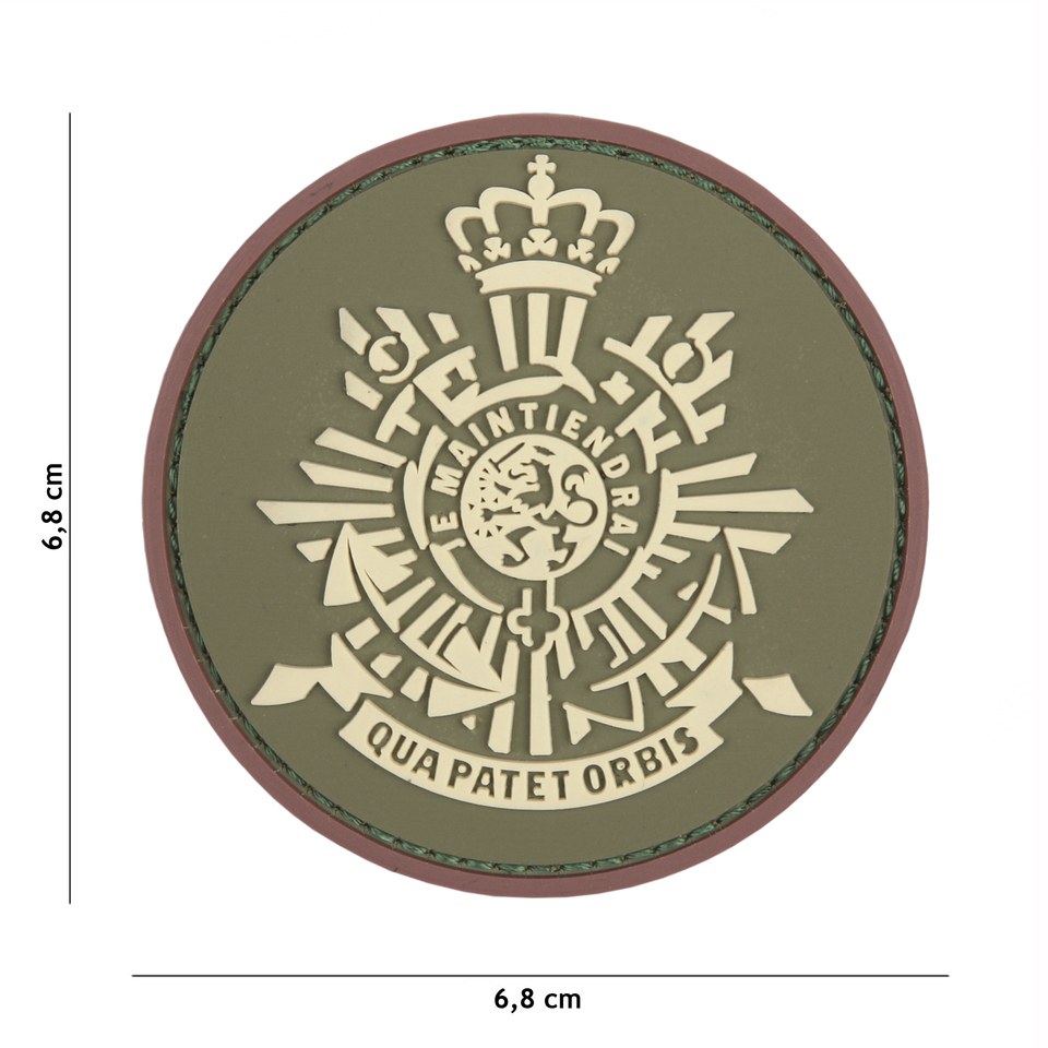 Gumová nášivka 101 Inc znak NL Corps Marines - multicam