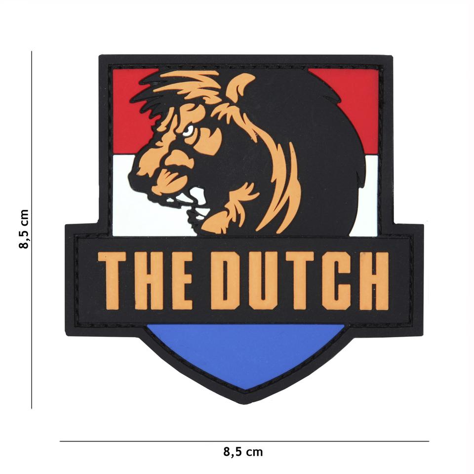 Gumová nášivka 101 Inc vlajka Nizozemsko The Dutch