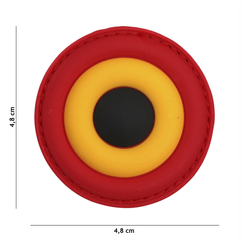 Nášivka gumová 101 Inc Belgium Air Force