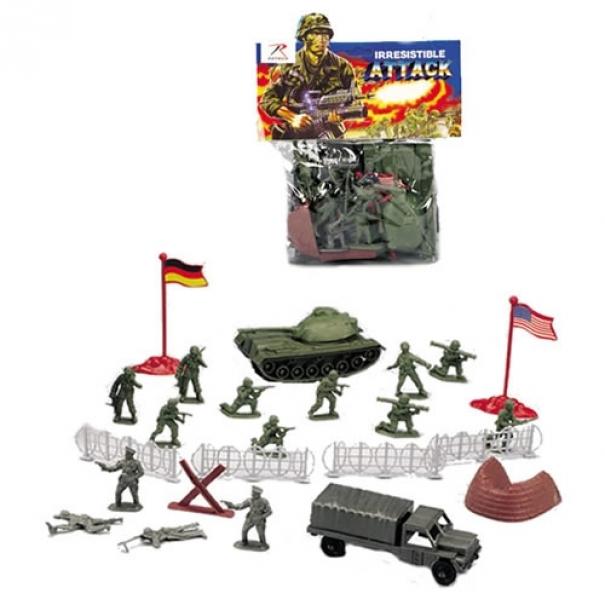 Hračky set vojenský WWII