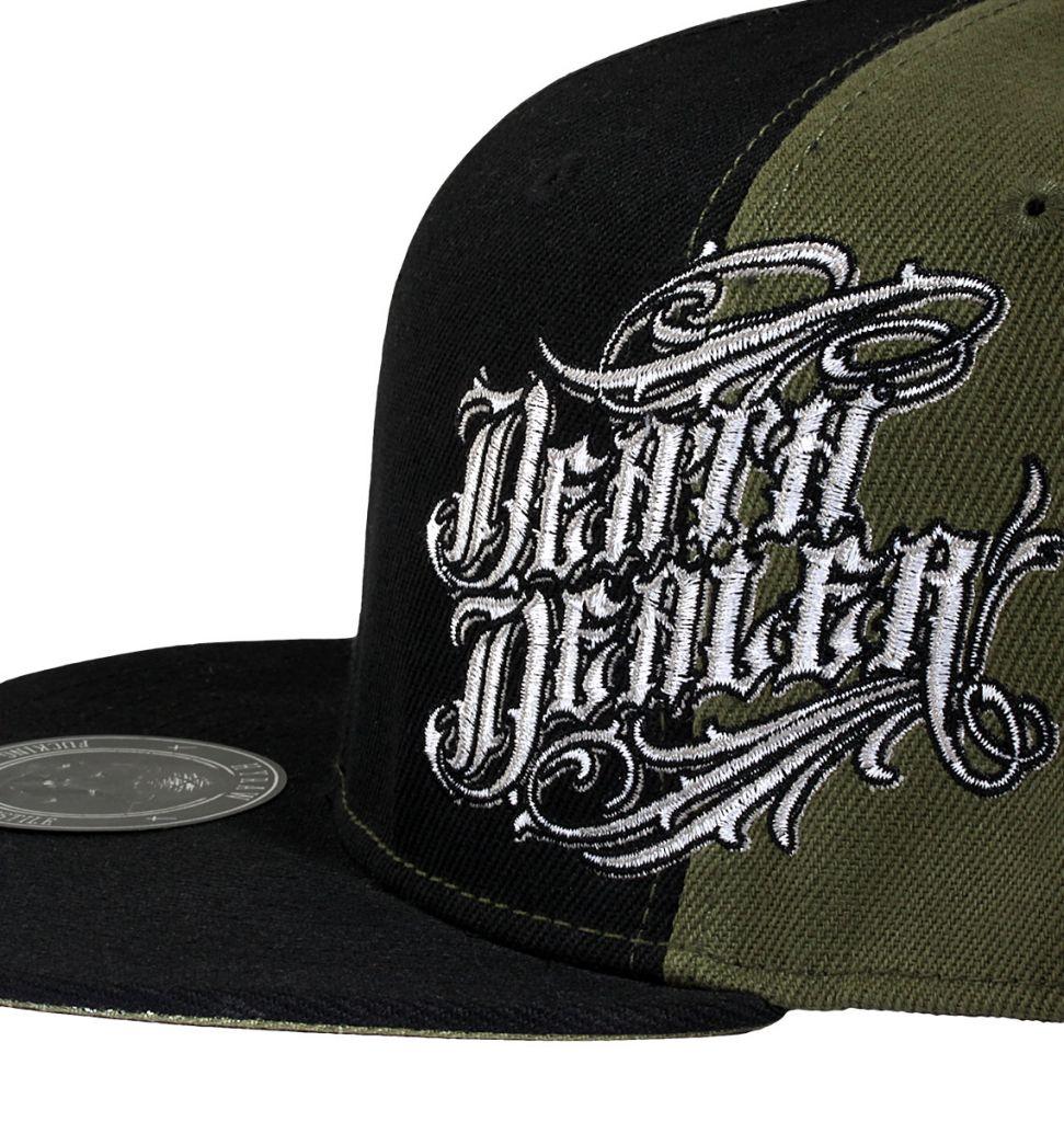 d6afca66dbf Kšiltovka Hyraw Death Dealer - černá-olivová - Hyraw oblečení